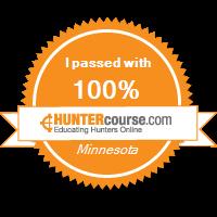 I got my Hunter Minnesota License!